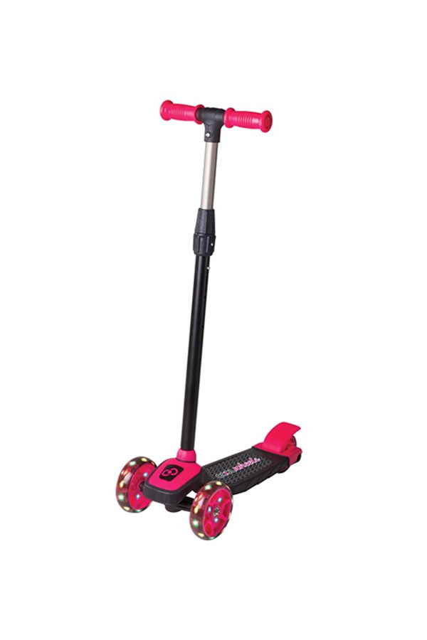 Cool Wheels 3 Yaş Üstü Işıklı Twist Pembe Scooter